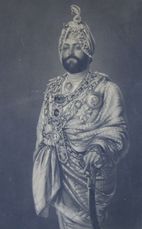 Maharajah Duleep Singh former owner of the Haethrop Estate
