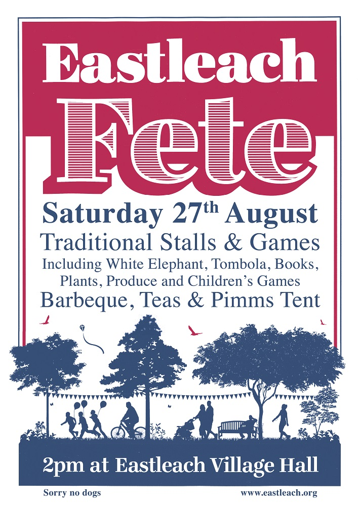 Eastleach Fete A3 Poster 2016 MoreInfo R_B1 small