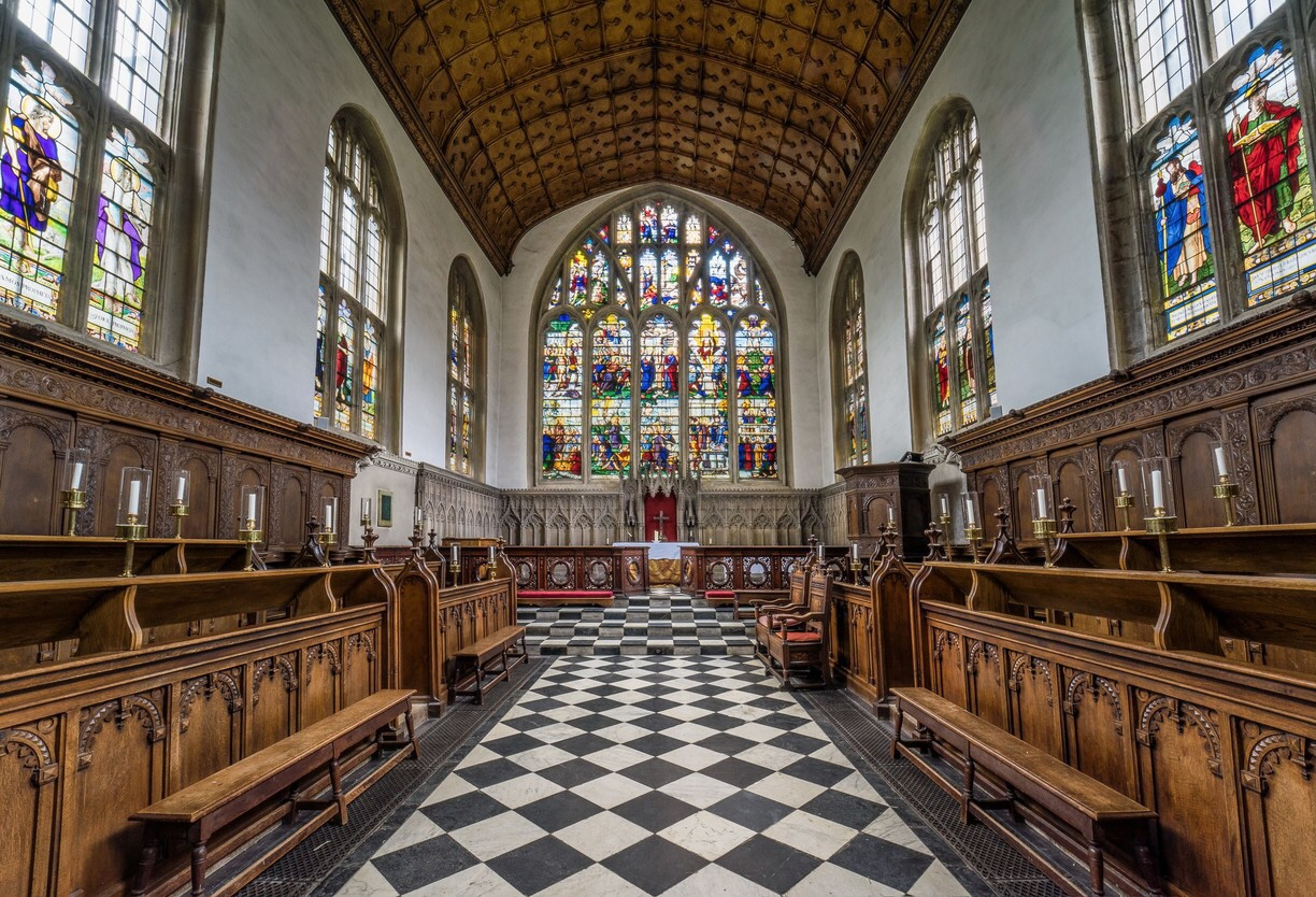 The Chapel , Wadham College - Oxford