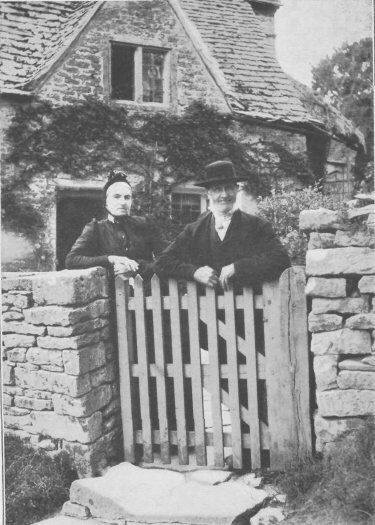 What a wonderful find, a marvellous photo of a couple thought to have lived in Eastleach.